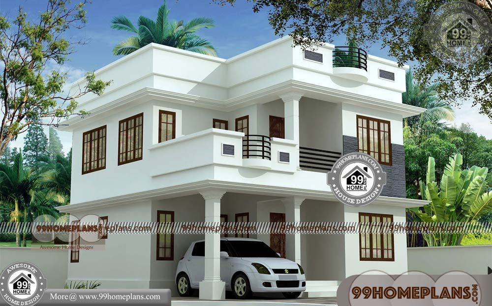 Simple and Small House Design & 70+ Modern Two Storey ...