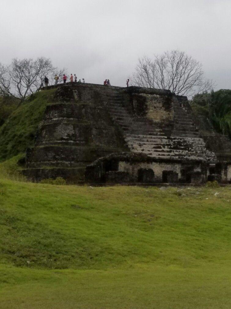 Mayan ruins of Altun Ha in Belize