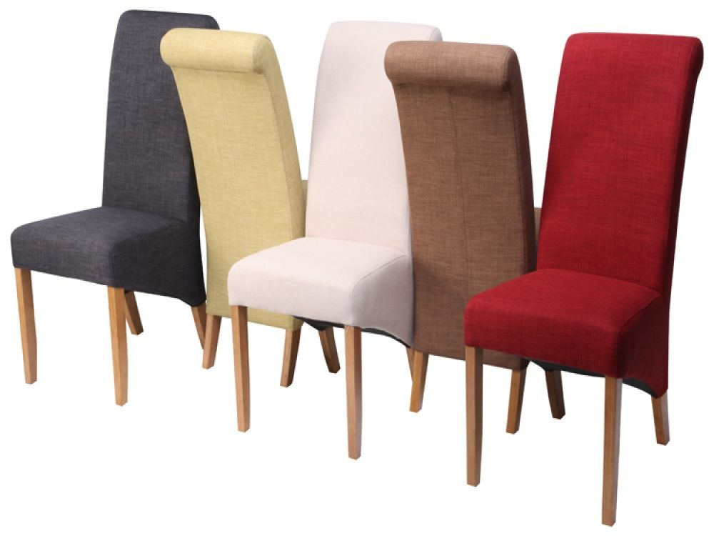 Alluring Ideas For Upholstered Dining Chairs  Httpwww Mesmerizing Cloth Dining Room Chairs Design Decoration