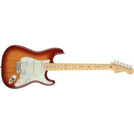 American Deluxe Stratocaster® Ash, Maple Fingerboard, Aged Cherry Sunburst