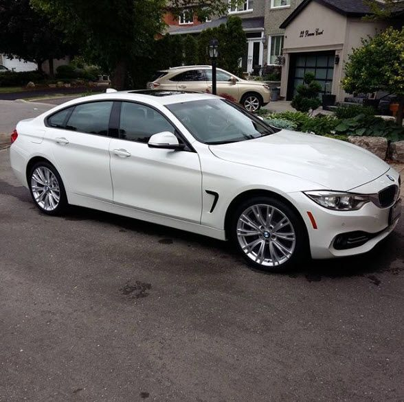Silver Package on this BMW 428i Gran Coupe Call today to