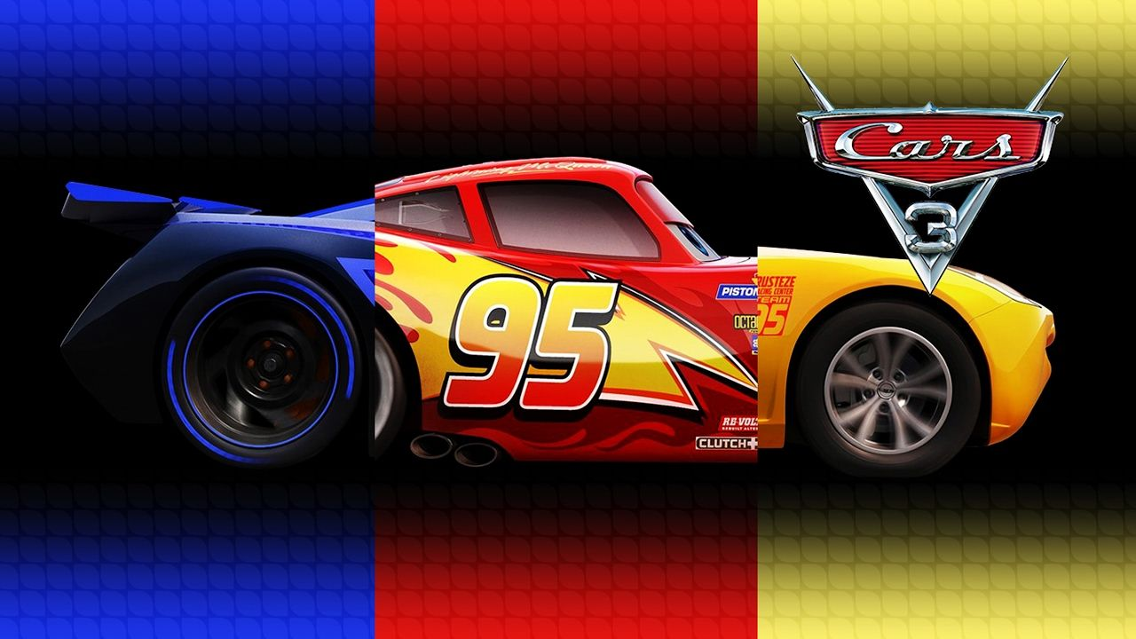 disney pixar cars 3 lightning mcqueen cruz ramirez jackson storm transfo coloring book for. Black Bedroom Furniture Sets. Home Design Ideas