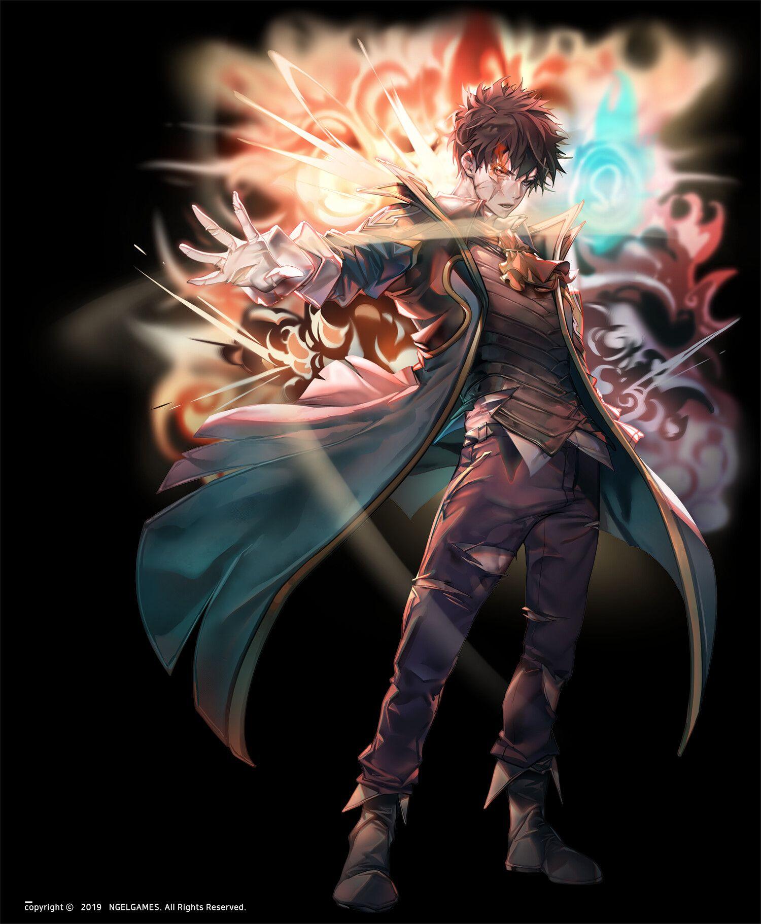 ArtStation herocantare artwork_Jade Emperor HanDaeWi