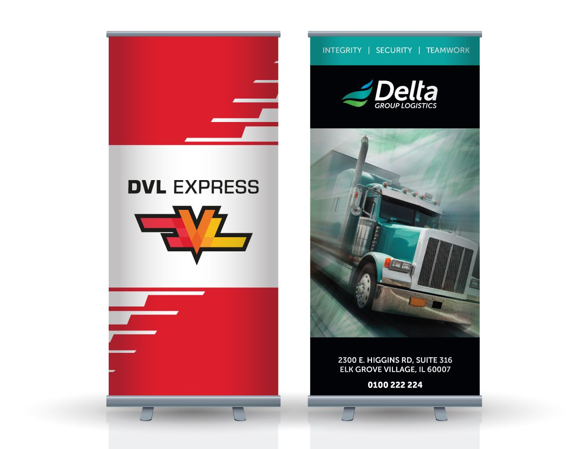 Roll Up Banners For Indoor And Outdoor Advertisement Your Design Create A Logo Banner