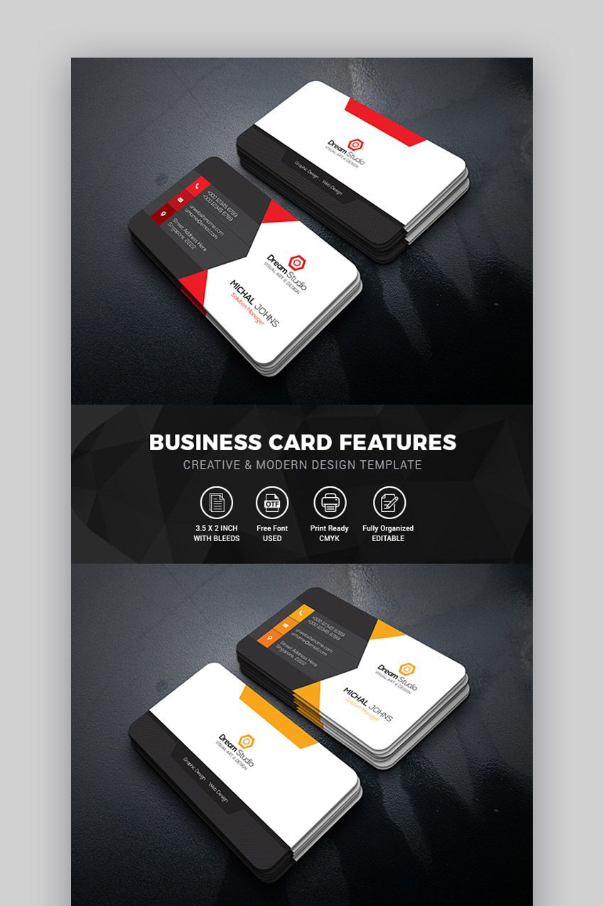 photoshop business card template download