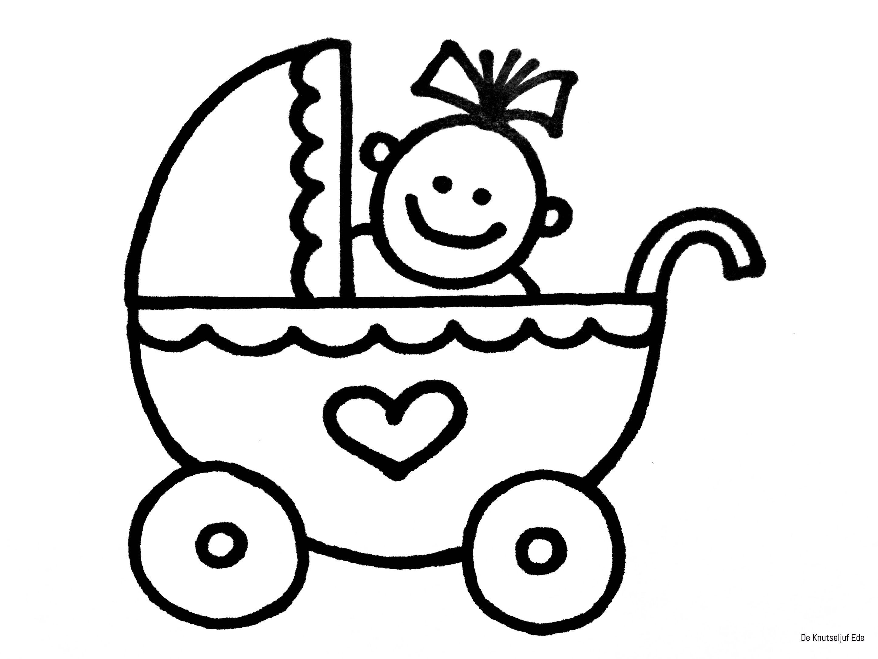 Baby Kleurplaten Geboorte Kraamcadeau Babyshower Kleurplaat Baby Geboren Baby Kleurplaa Knutselen Geboorte Knutselen Zwangerschapsverlof Baby Knutselen