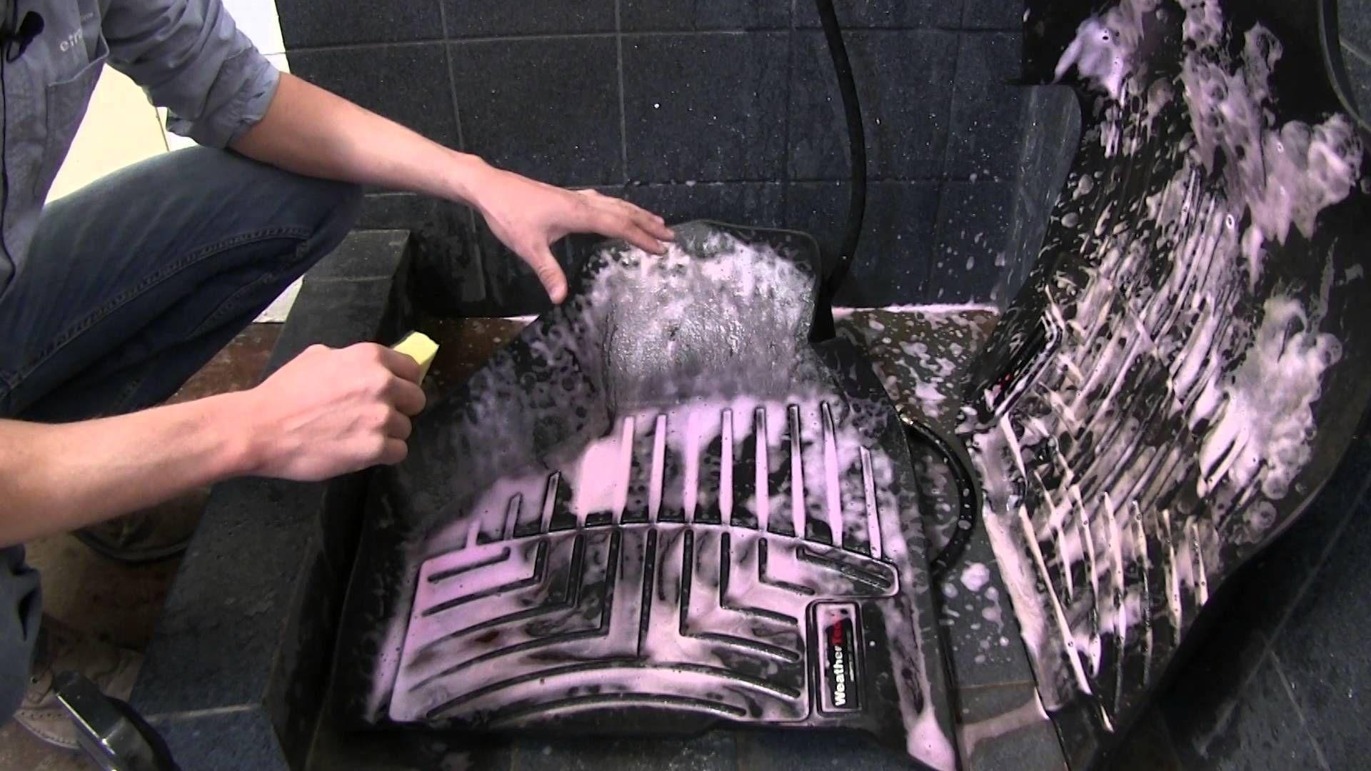 how to make rubber car mats look like new Car mats diy