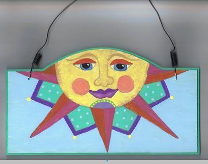 Yep, another sun face