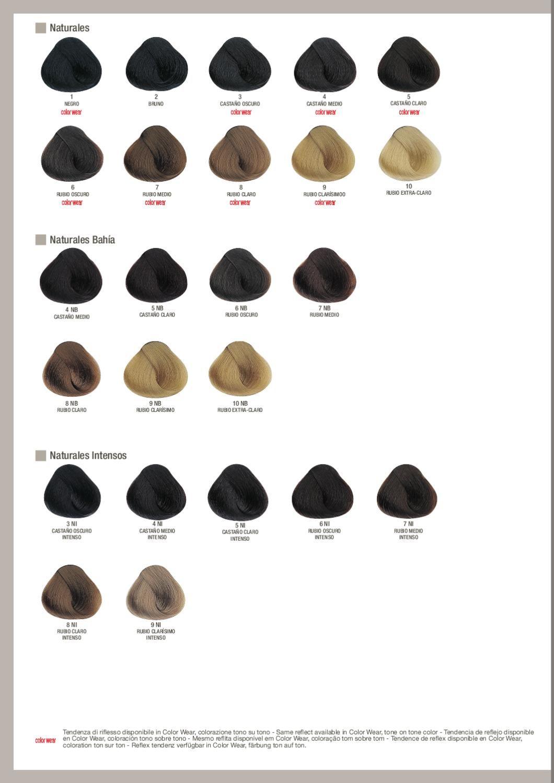 Tonos De Rubio Carta De Colores Carta De Colores Evolution Of The Color Palitra