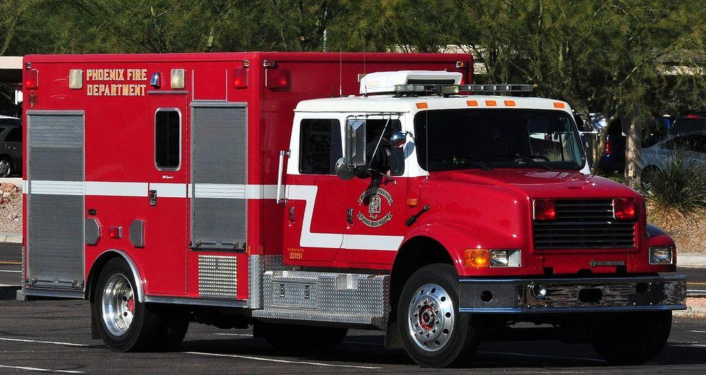 Phoenix az fire dept ambulancepumper by eone it was