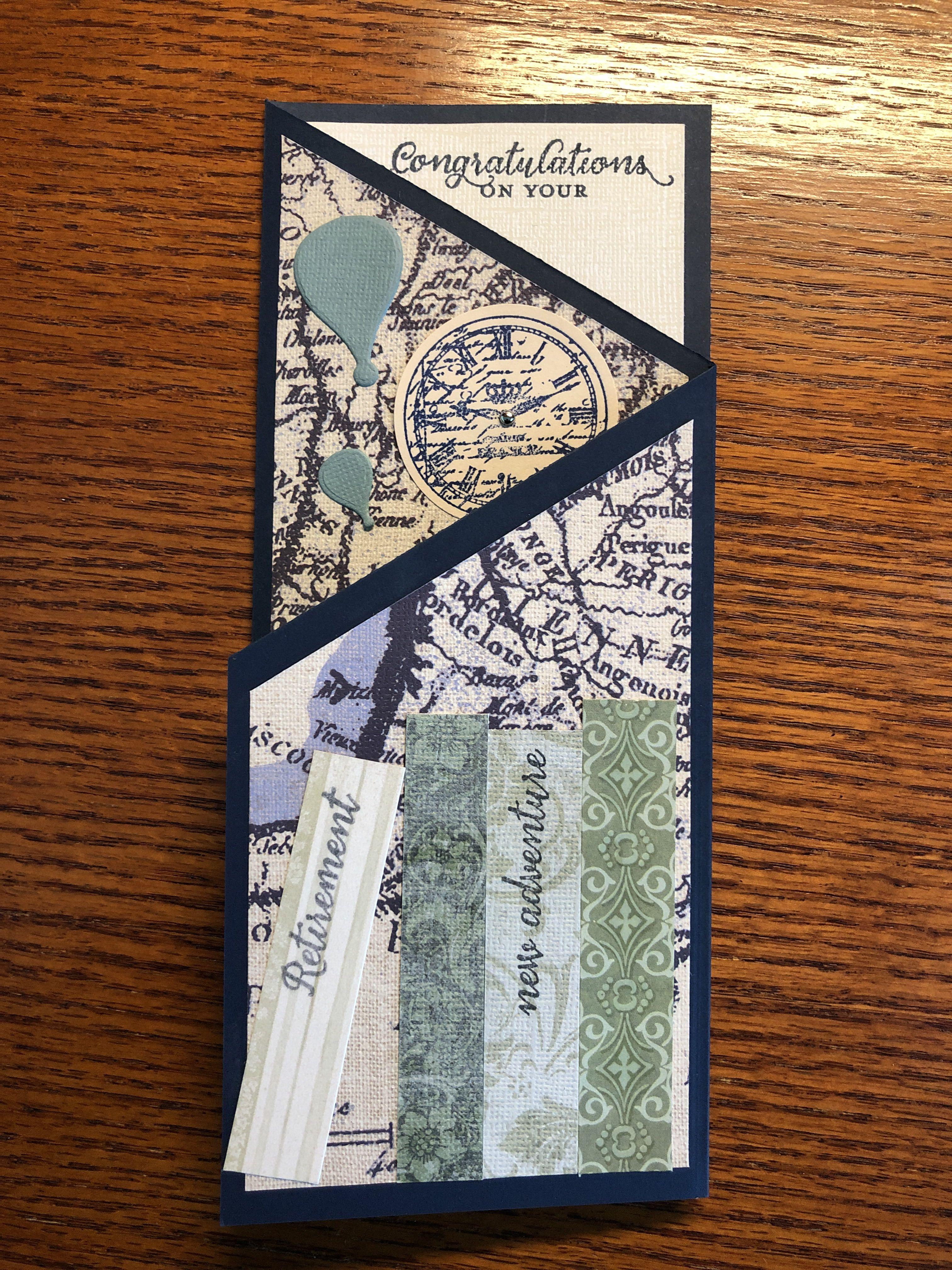 Luxury Handmade Retirement Card - Handmade Cards -Pink & Posh |Handmade Retirement Cards