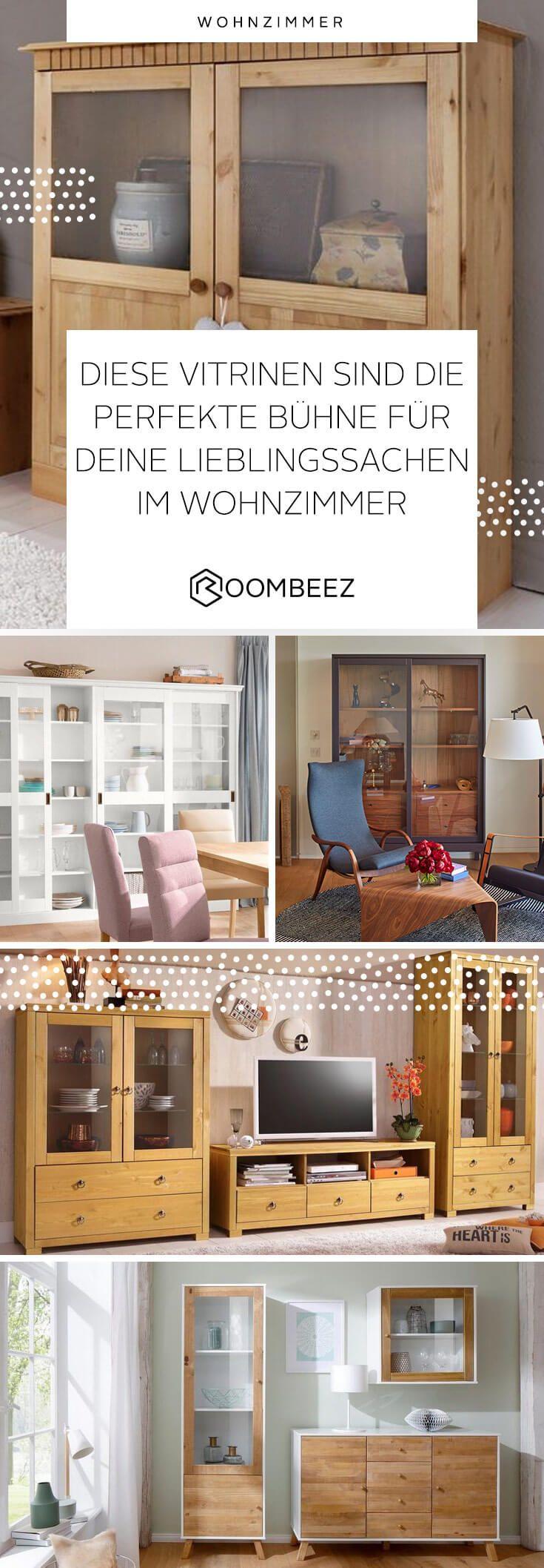 Vitrinen Schone Glasschranke Fur Deine Deko Wohnzimmer Pinterest