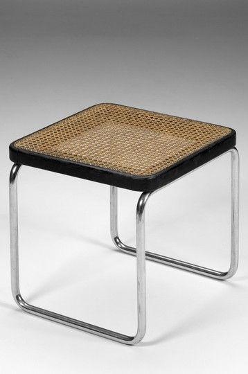 Marcel Breuer Hocker B9 Thonet 30s Extraordinary Furniture In