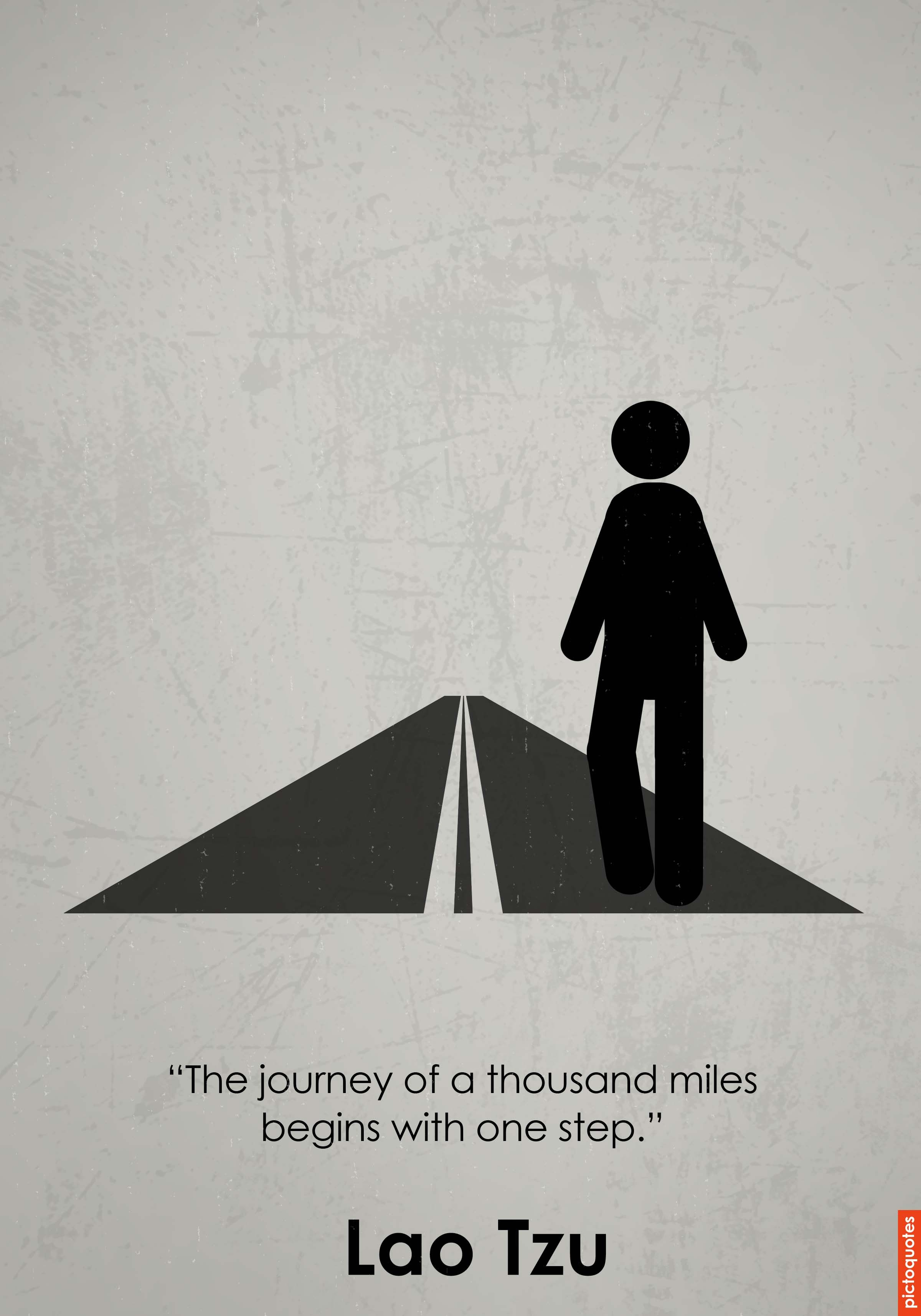 """the journey of a thousand miles begins with one step"