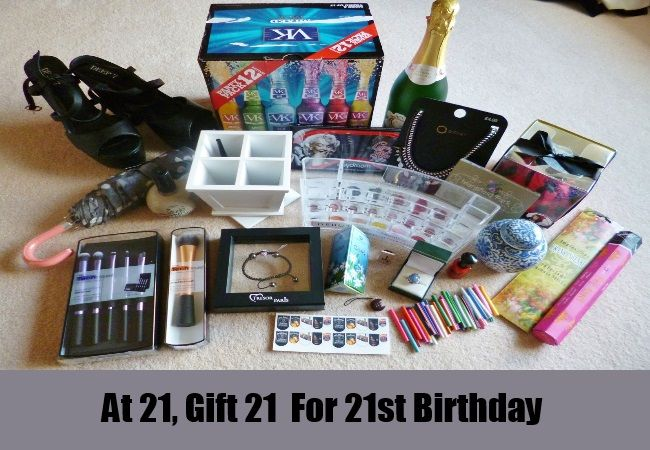 Six Thoughtful 21st Birthday Gifts