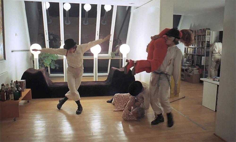 Step into Jean-Luc Godard's office – recreated at Fondazione Prada - The  Spaces | Clockwork orange, A clockwork orange movie, Clockwork