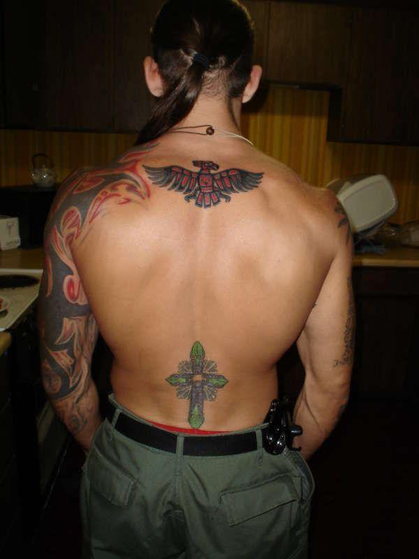 Leland Chapman His Tattoos My Crush Leland Chapman Dog The