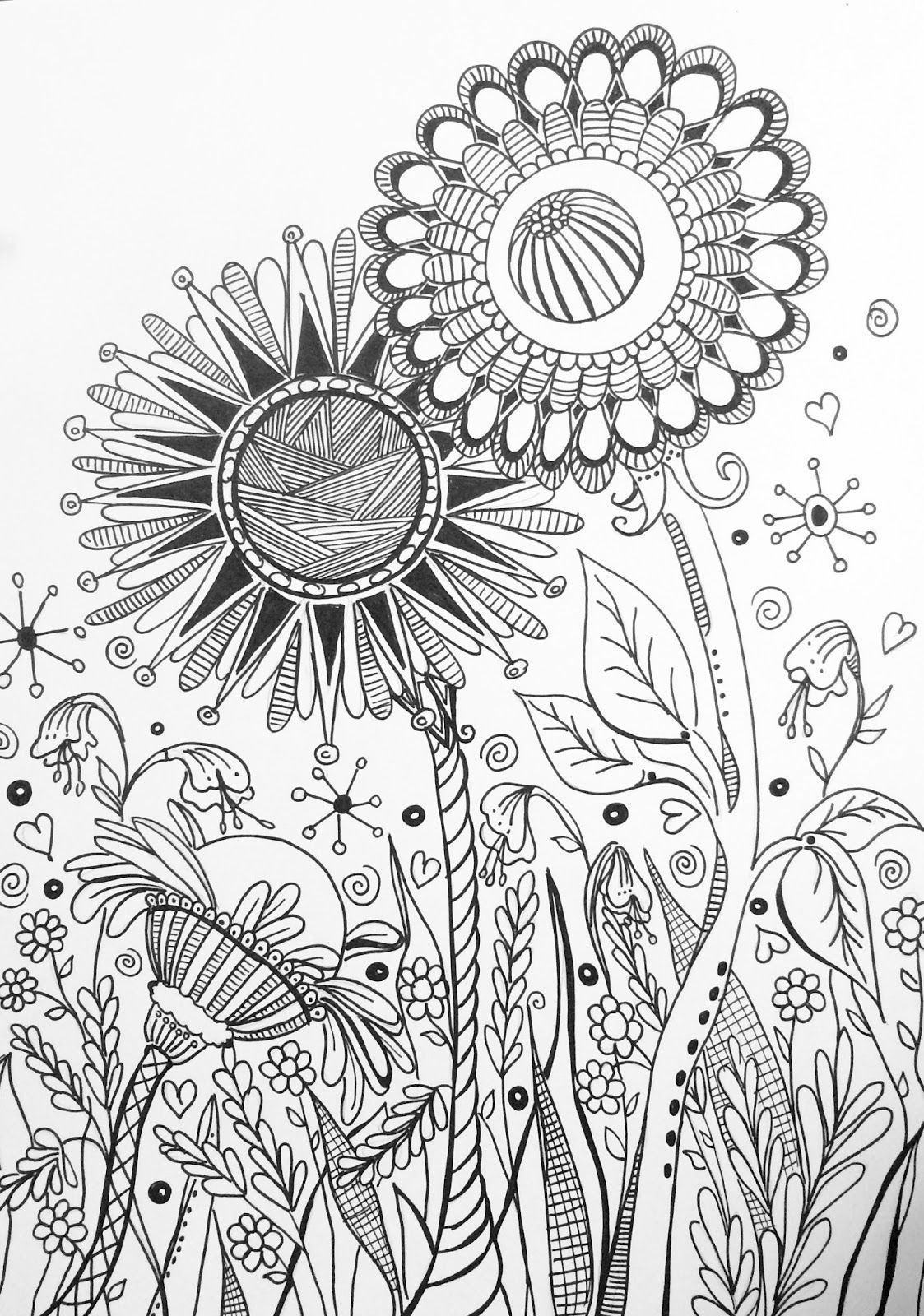 XXL coloring book pages preview for Kingsport Fun Fest Makers Faire ...