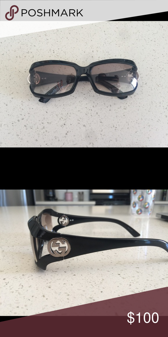 2431181d9f Gucci sunglasses In great condition! Just like new! Gucci Accessories  Glasses