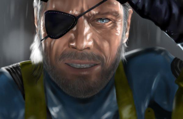 Big Boss Metal Gear Solid Phantom Pain