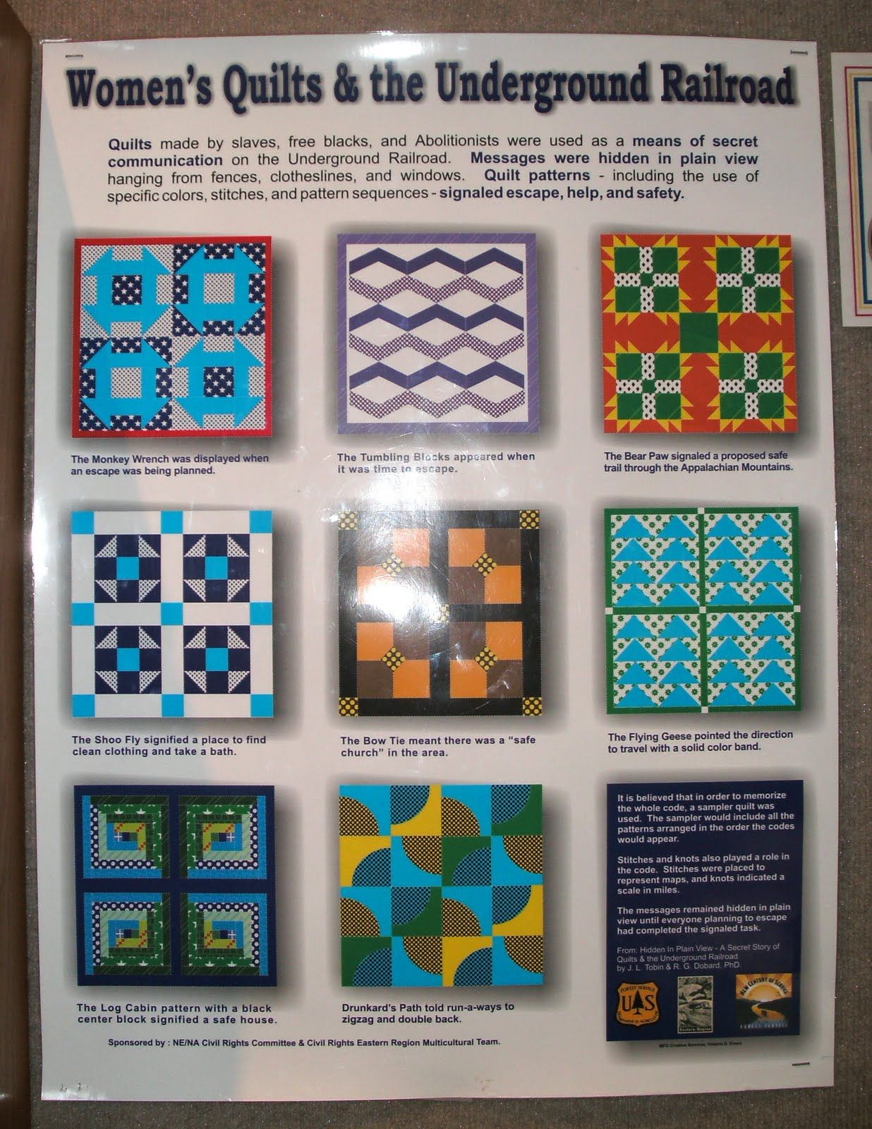 Underground Railroad Quilt Pattern Meanings Then We Saw