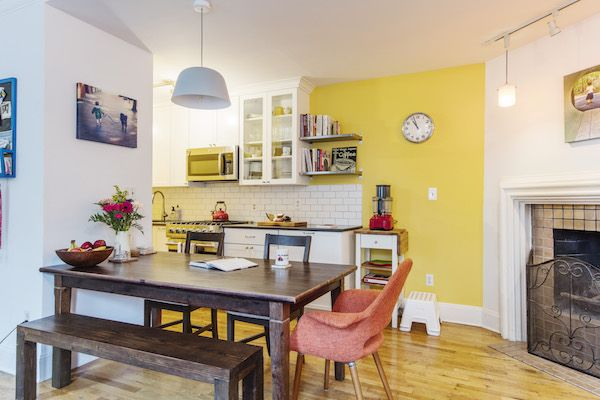 All Eyes on Resale for this Kitchen and Bath Renovation   Yellow ...