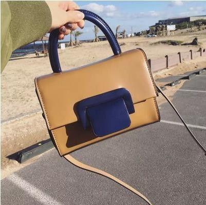 Thumbelina style simple handbag