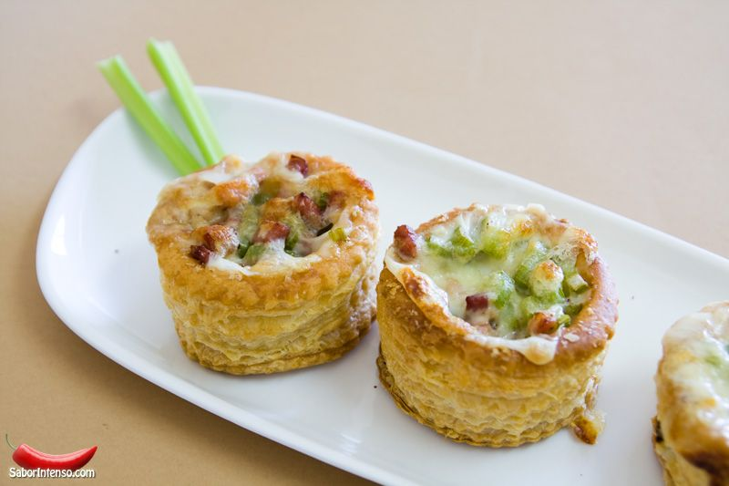 Vol-au-Vent de Aipo e Bacon