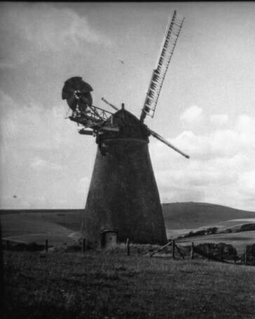 The Old Tower Mill Alfriston Near Lewes East Sussex C 1910