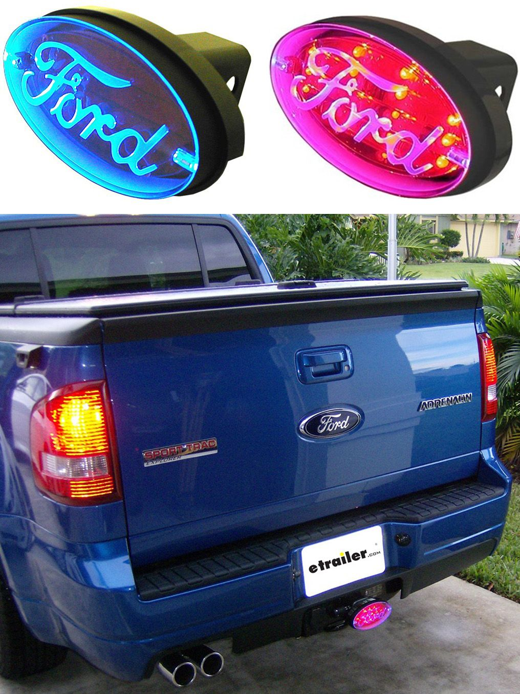Ford Brake And Tail Light L E D Trailer Hitch Cover Pilot Automotive Hitch Covers Cr 017f Hitch Cover Trailer Hitch Cover Trailer Hitch