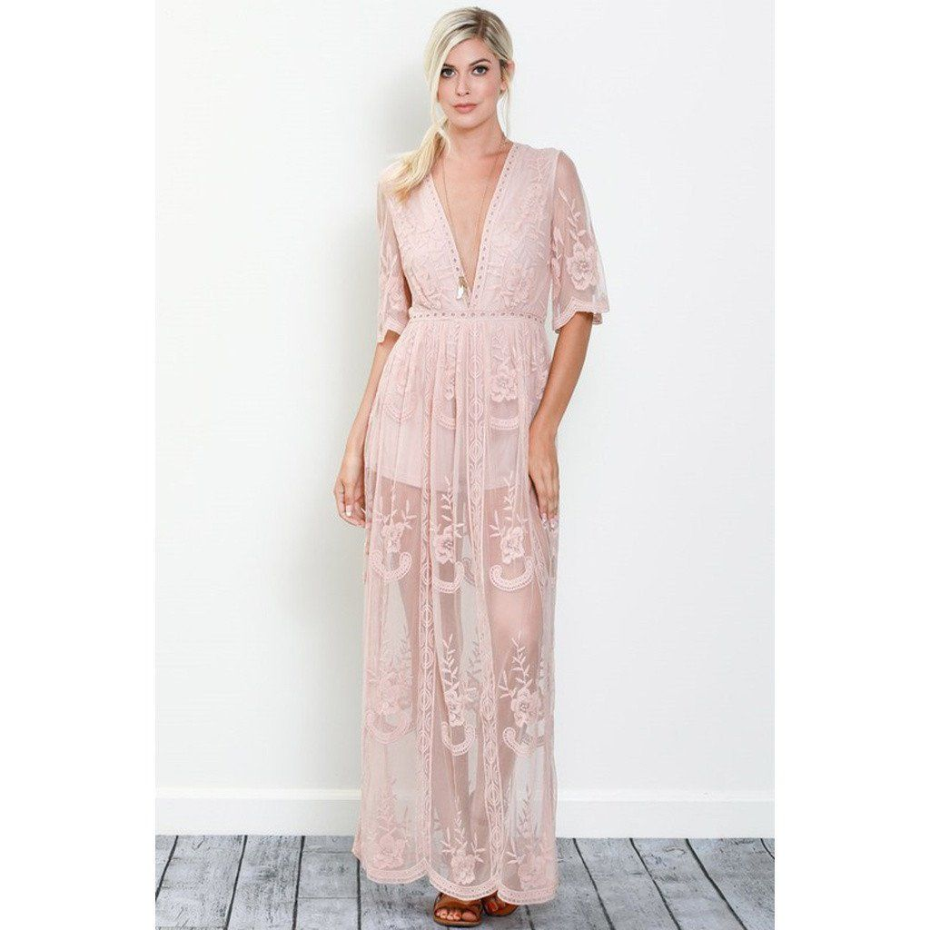 e0854919b651f Amelia Maxi Dress   Products   Lace maxi, Embroidered lace, Lace overlay