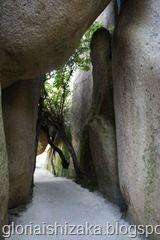 Chalet da Condessa D´Edla-Sintra - pedras grandes
