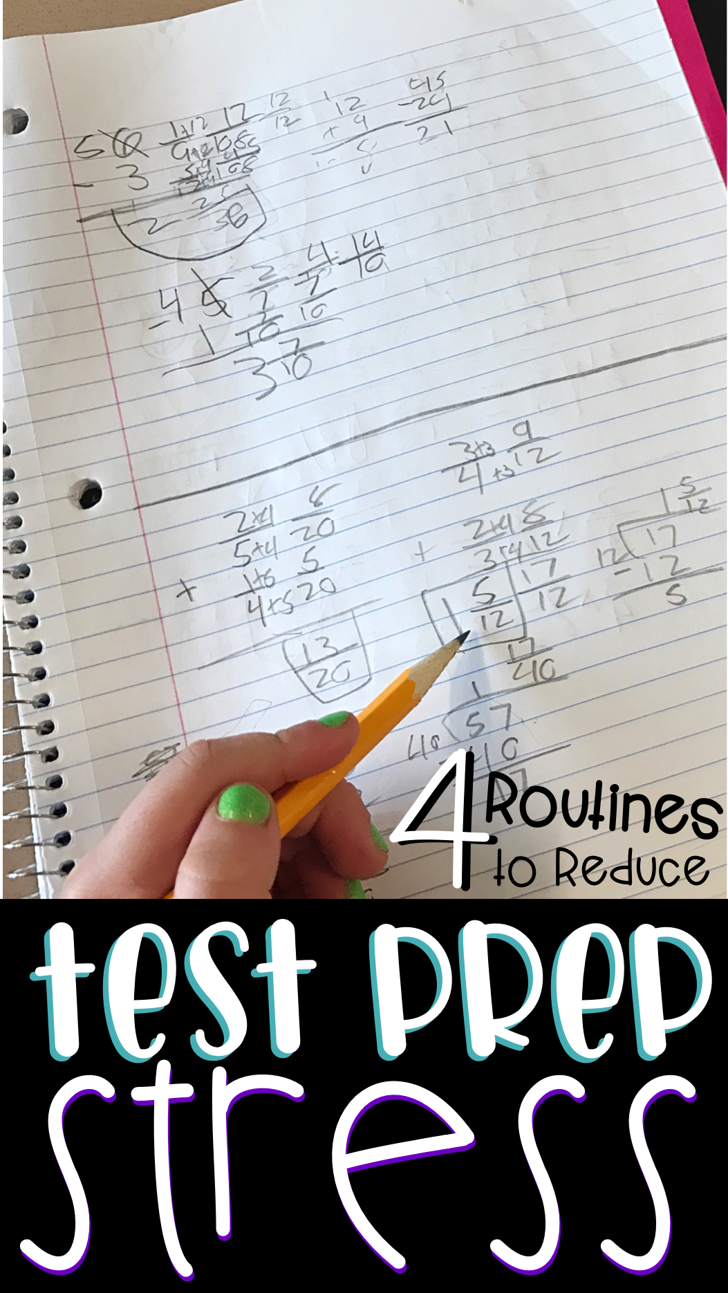 4 Simple Daily Routines That Will Ease Test Prep Stress