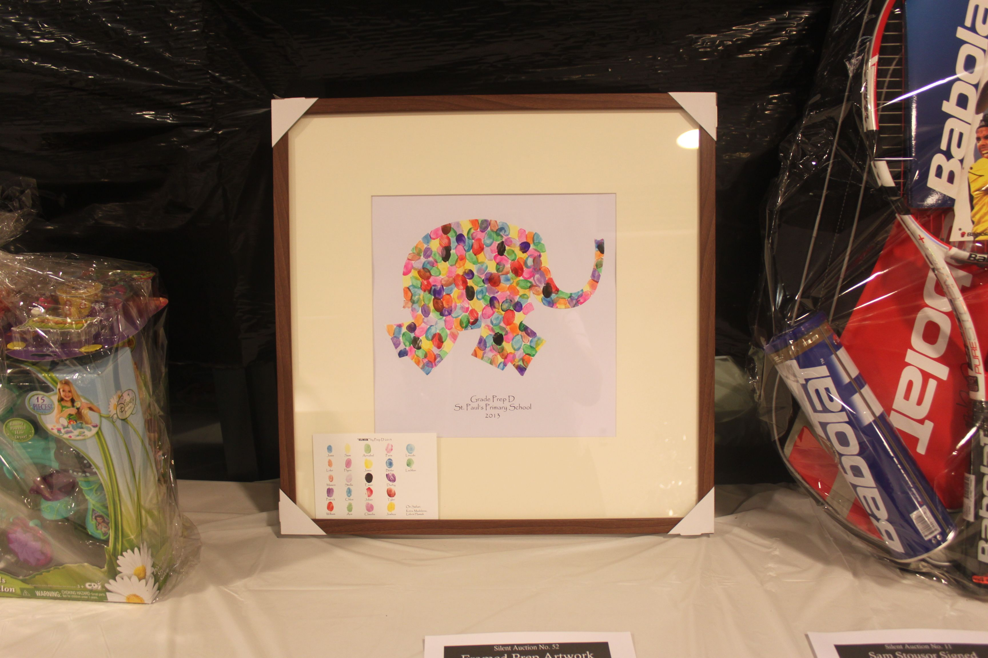 Artwork at the auction by Donna Campbell