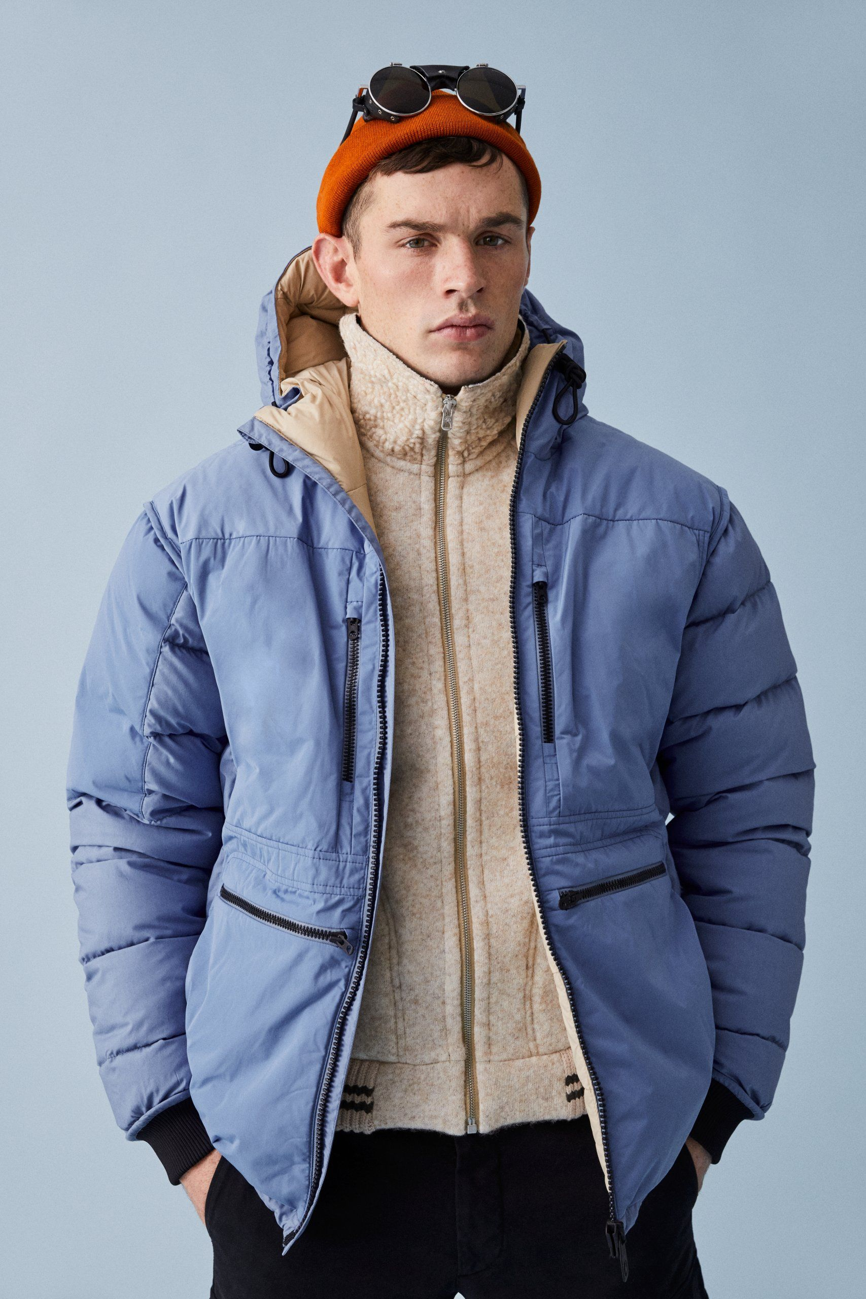 c7a7d6acb04d NIGEL S FROST  Nigel Cabourn s take on Peak Performance s iconic Frost Down  Jacket. It s crafted