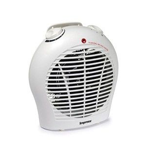 Fan Heater with Adjustable Thermostat