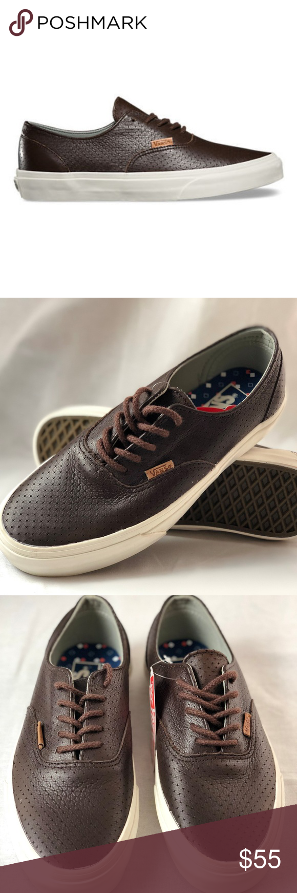 cc383d1261 VANS Era Decon Leather Emboss- Seal Brown. Condition  New with box. Size   Women s 8.5