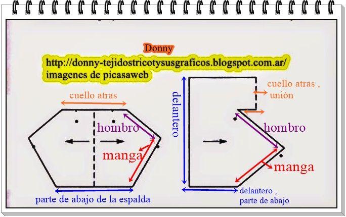 tejido a dos agujas,tricot,diagramas,esquemas,patrones,gráficos ...