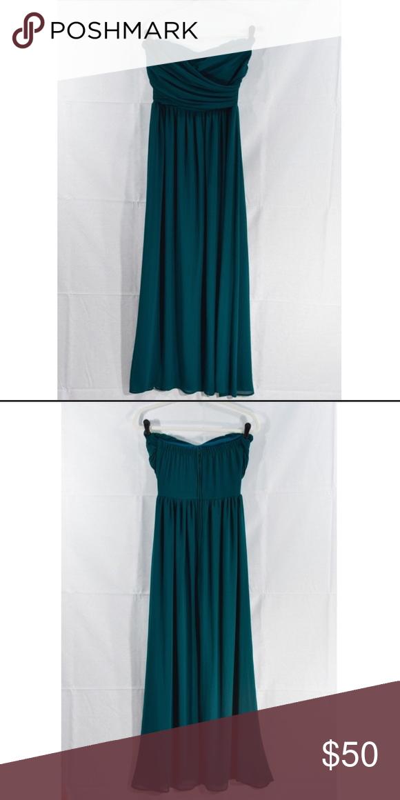 Emerald Green Prom Dress strapless Dresses Strapless