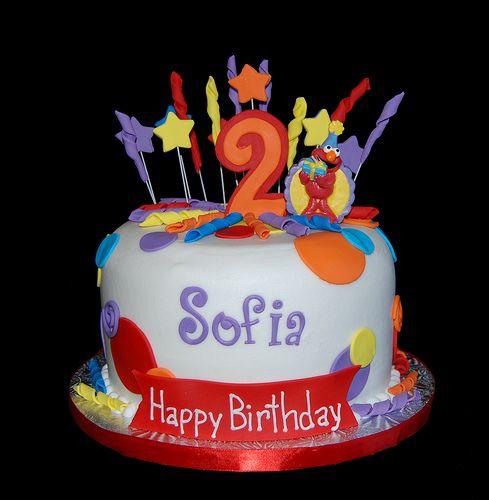 colorful birthday cakes for girls birthday ideas Pinterest