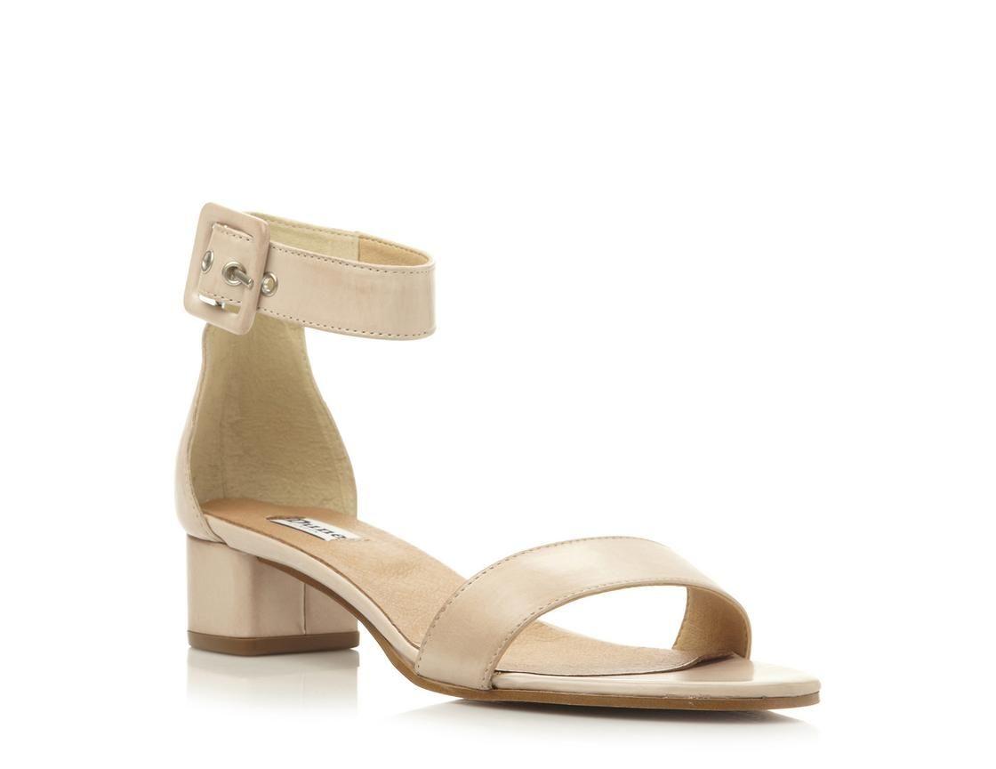 bef386c65a41 DUNE LADIES FRAN - Two Part Block Heel Sandal - white