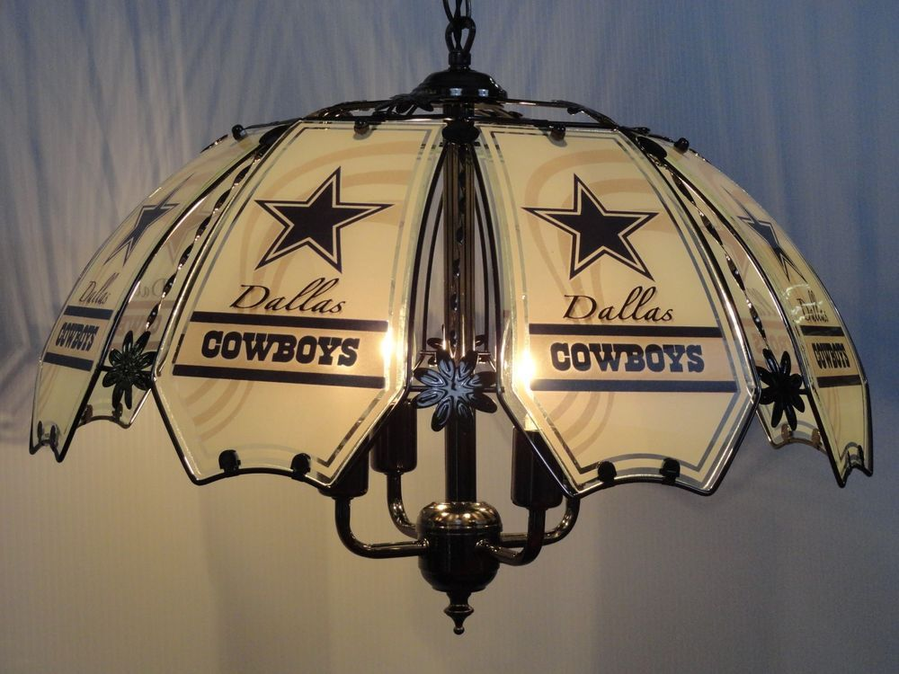 Details about DALLAS NFL COWBOYS Table Lamp NEW Plush ROWDY