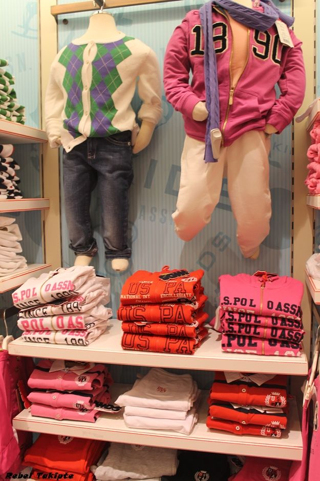 Not just sportswear, U.S. Polo Assn. Turkey features knit cardigans and colorful knits for children!