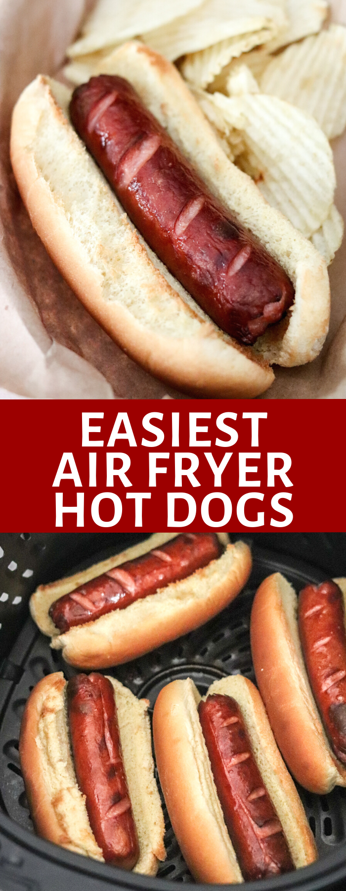 Cooking hot dogs has never been easier than in the Air