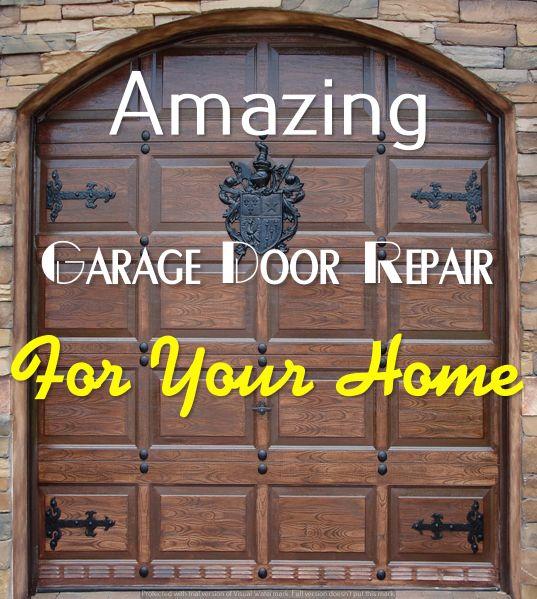 Fix Garage Door Opener Door Repair Garage Doors Garage Door Repair