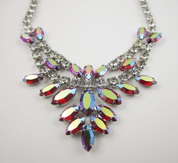 Aurora Borealis Vintage Jewelry 6