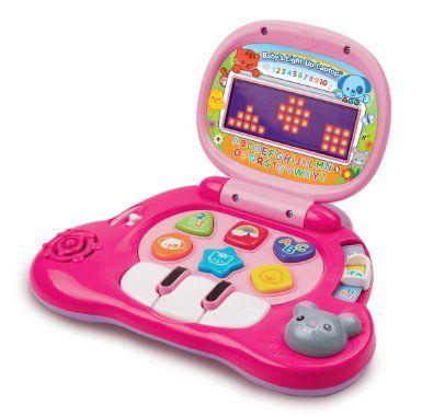 Amazon.com: VTech Baby's Light-Up Laptop, Pink: Toys & Games