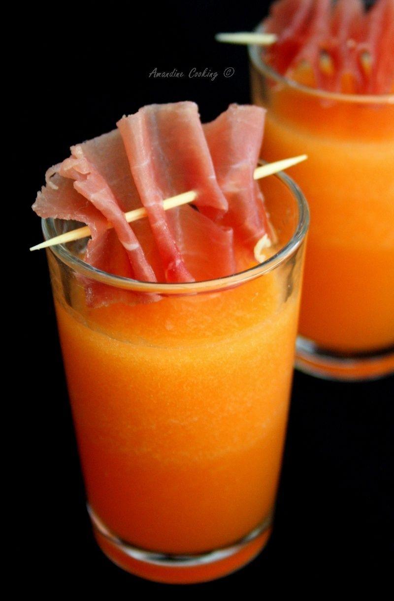 Port melon gazpacho - Amandine Cooking, 2020 (Görüntüler ...