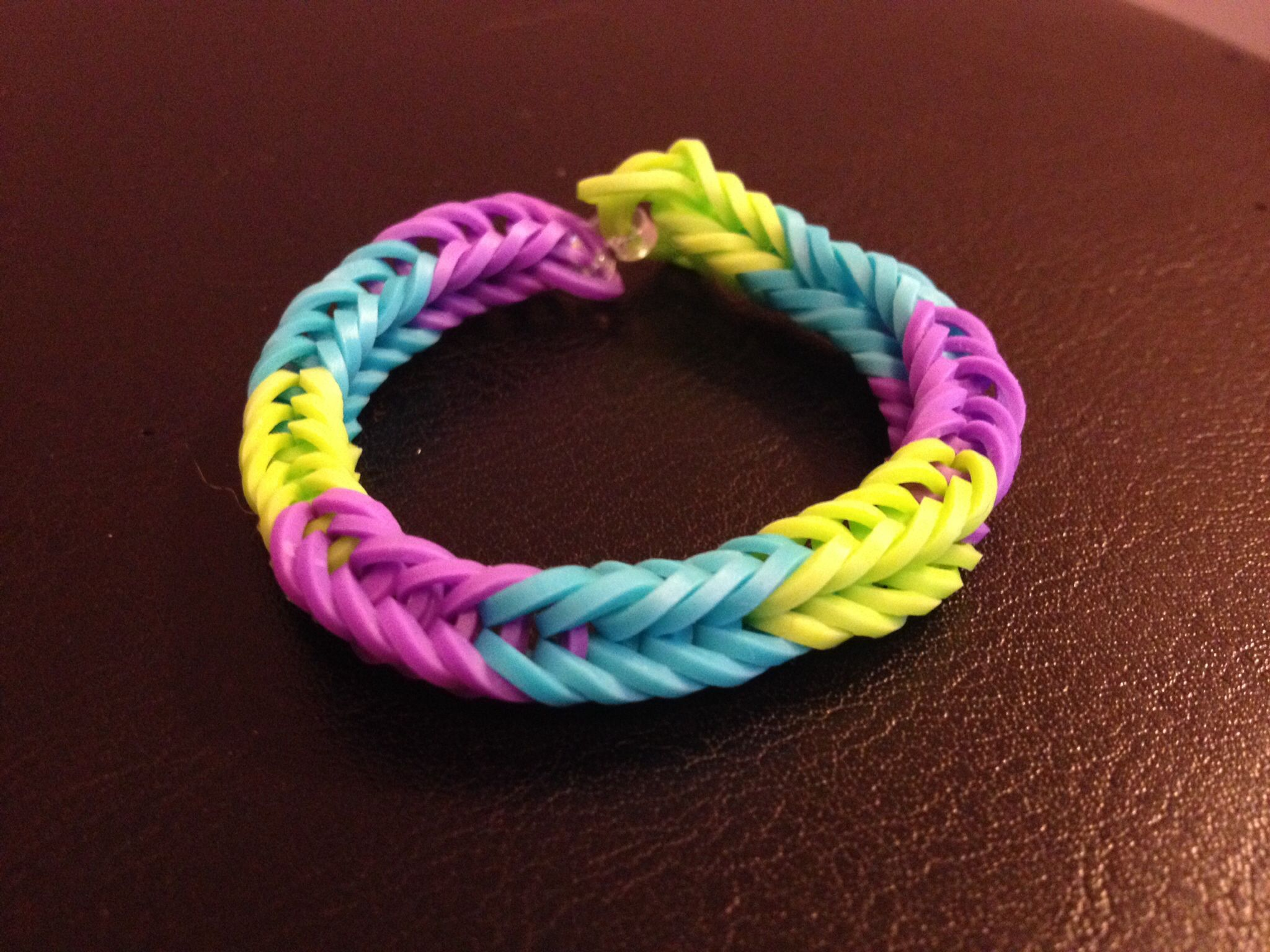 Fishtail Rainbow Loom Love The Color Variation Kiddy