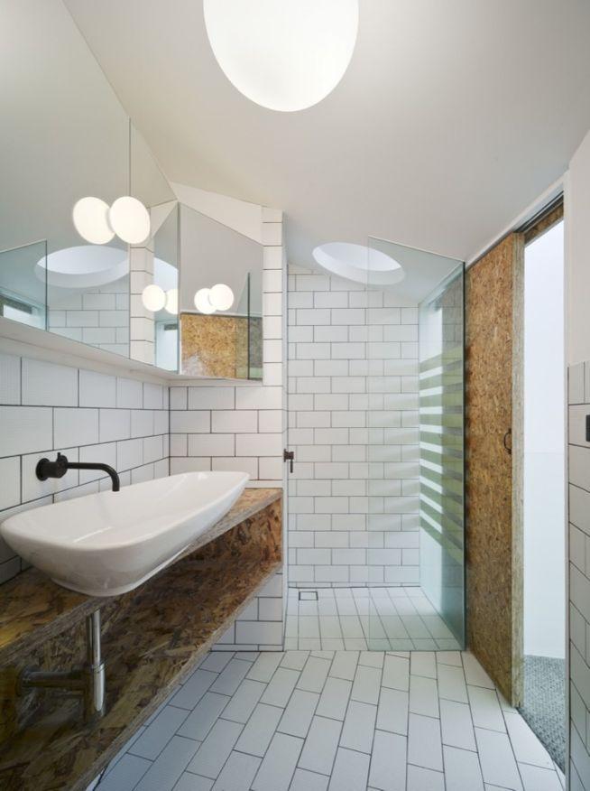 Pressboard My Sister Loves This Stuff Modern Bathroom Design Bathroom Tile Designs Bathroom Interior